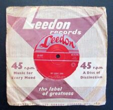DOUG FRANKLIN with the BLUENOTES  - MY LUCKY LOVE - RARE 1958 AUSSIE 7''- LEEDON
