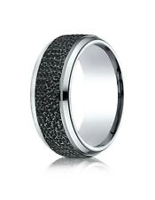 Men's Benchmark Size 10 Cobalt Wedding band Ring