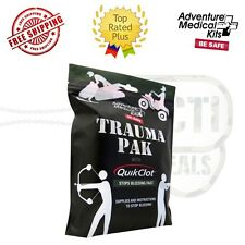 Adventure Medical Kit Trauma Pak w/Quick Clot Stops Bleeding First Aid 2064-0292