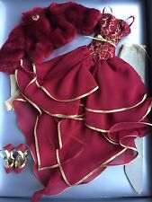 """Tonner Wilde Imagination 18.5"""" Evangeline Ghastly RED SUNSET Doll Clothes Outfit"""