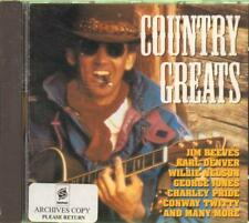 Various Country(CD Album)Country Greats--New