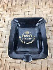 Vintage Sinner Exquisit London Belgium Gin Porcelain/Ceramic Ashtray Cigar Rare