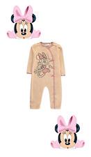 Pyjama fille 1 pièce en velours Minnie Mouse officiel Disney du 0 au 18 mois
