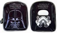 Star Wars Kids Junior Backpack Ruck Sack School Bag Darth Vader or Storm Trooper