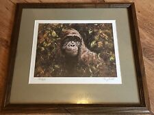 """Tony Forrest """"Handsome Brute"""" Gorilla Signed Mounted Limited Edition Print"""