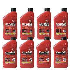 Full Synthetic 5W30 Motor Oil 8 Quarts In Case KENDALL GT1 Max w/liquid titanium