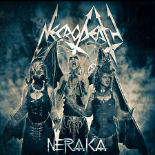 "NECRODEATH ""NERAKA"" EP 2020. digipack CD. 5 tracks. Black Thrash Metal."