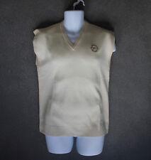 NEW Pringle Mens Wool Smart Vest Waistcoat Sleeveless Jumper (S) Top Sweater