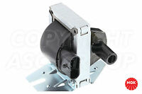 New NGK Ignition Coil For FIAT Panda 141 1.0 Injection 1992-95 with Distributor