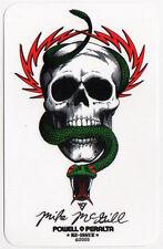 Powell Peralta Skateboard Sticker Bones Mike McGill Reissue skate snow surf