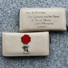 Unisex Fashion Harry Potter Letter Zip Around Wallet PU Long Style Wallet