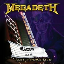 Megadeth - Rust in Peace Live [New CD]