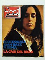 CIAO 2001 35-1971 JOAN BAEZ A ROMA-ISAAC HAYES-DANYEL GERARD-MAJORITY ONE
