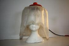 Casque sèche cheveux portable électrique 2 vitesses BRAUN Orange vintage 70'