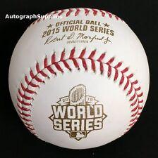 Rawlings 2015 World Series MLB Official Game Baseball Royals Mets - Boxed
