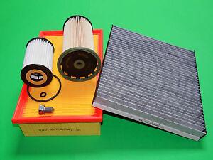 gr. Filterset Filtersatz Inspektionspaket Skoda Octavia (5E) 1.6 TDI (66-85kW)