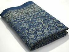 Vintage Bedspread Kantha Blanket Bed Cover Sofa Cover Hand Stitch Throw Quilt