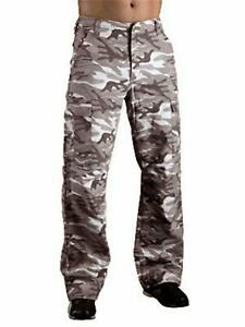 Hornee Desert Camo SA-M10 Motorcycle Cargo Jeans/Trousers - Leg Length Regular