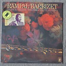 JEAN-PIERRE RAMPAL BARBIZET FRANCK/PIERNE SONATA SEALED RECORD ALBUM