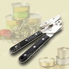 Stainless steel metal food can openers simple and comfortable camping trip