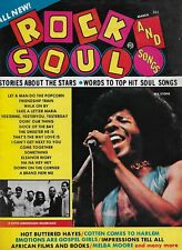 3/70 issue of ROCK AND SOUL SONGS  magazine  SLY AND THE FAMILY STONE cover
