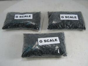 G Scale 3 Packages of Coal 1 Pound Each