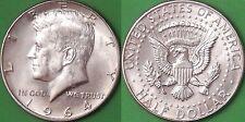 1964 US (D Mark) Silver Kennedy Half Dollar Graded as Brilliant Uncirculated