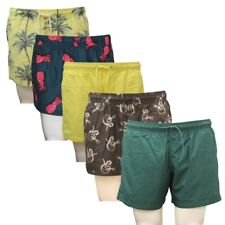Men's and Boy's Ex H&M Summer Holiday Casual Swimming Mesh Lined Trunk Shorts