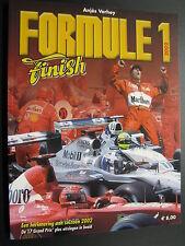 Book Formule 1 Finish 2002 door Anjes Verhey (Nederlands)
