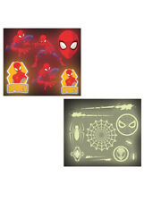 Spider-Man Glow In The Dark Stickers Party Favours Pk16