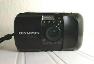 Olympus Stylus Infinity 35mm AF Point & Shoot Camera 1:3.5 Lens Working