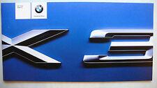 Prospekt BMW - Der neue BMW X 3 (3.0i), 2.2003, 40 Seiten