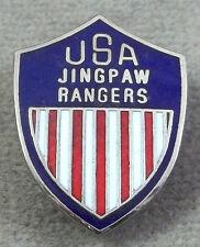 Inde - Burma Jingpaw Rangers Patch Style Unit Écusson Insignes - Clutchback