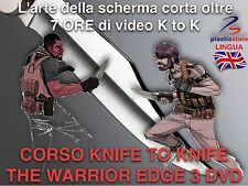 Knife Defence Training - Difesa Personale da coltello (3 DVD) (7 ore di Video)