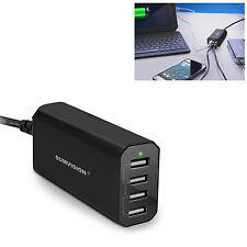 SUMVISION 4 PORT USB ENCHUFE REINO UNIDO CONECTAR EL CARGADOR/CARGA TODO TU USB