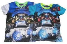 Jungen-T-Shirts, - Polos & -Hemden Größe 140 aus Baumwollmischung mit Motiv