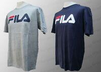 Mens FILA CANNAN T-Shirt Tee 100% Cotton Logo Short Sleeve S M L XL XXL BNWT