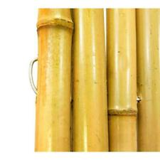3 ft. h x 8 ft. w x 1 in. d natural rolled bamboo fence | garden fencing decor