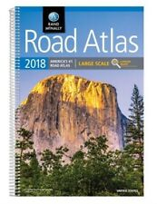 2018 Rand McNally Large Scale Road Atlas: Lsra (Paperback or Softback)