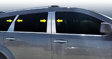 Fiat Freemont 2012Up Chrome Door Post Pillars 4 Doors 8 Pieces S.Steel