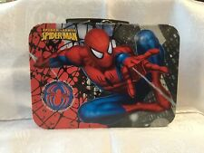 Spiderman ~ 2011 ~ Spider-Sense Tin Lunch Box Marvel ~ Euc
