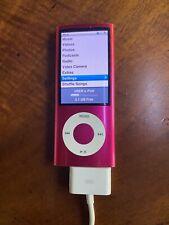 Apple MB735LL/A 8GB iPod Nano 4th Generation - Pink