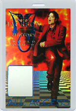 Michael Jackson 1996-97 History Laminated Backstage Pass