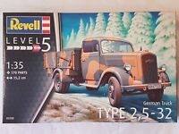 Revell 03250 German Truck Type 2,5-32 1:35 Neu und versiegelt