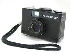 Rollei 35 LED with Triotar 40mm F/3.5 Compact 35mm Film Camera from Japan