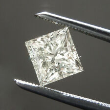9  X 9 MM 4.00 Carat Near White Princess Shape Cut Loose Moissanite For Ring