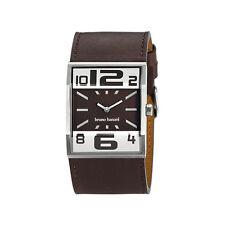 Bruno Banani señores reloj (Gents watch) con Box-pappiere br 21000 Brix en marrón