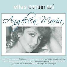 Angelica Maria Ellas Cantan Asi CD New Sealed nuevo