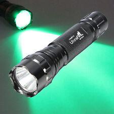 WF-501B  LED High Lumens Green Light 1 Mode Flashlight US Stock