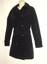 Calvin Klein Navy Blue Trench Coat  UK 10.USA 6.EU 38   100% Authentic!!